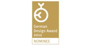 2012, German Design Award, Nominee, Rat für Formgebung