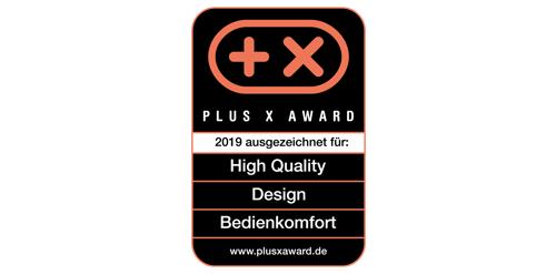2019, PLUS X AWARD, High-Quality Design Bedienbarkeit