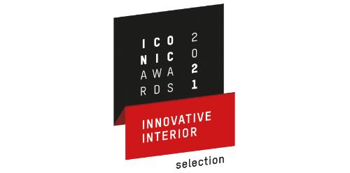 2021 ICONIC AWARDS, Innovative Interior, selection