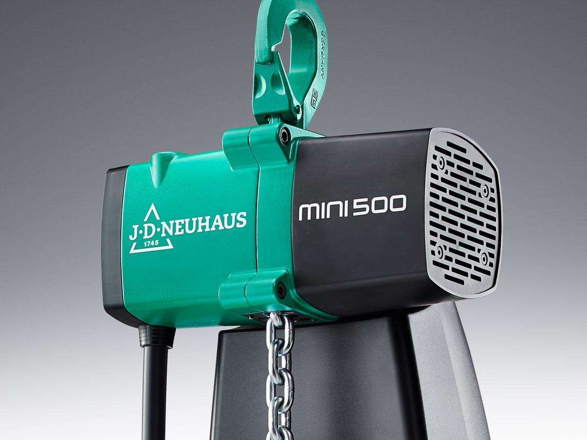 J.D.Neuhaus mini500 – Maschinenbau, SynapsisDesign