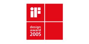 2005 iF design award 300x149 - 2005 iF design award