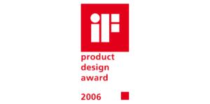 2006 iF design award 300x149 - 2006 iF design award