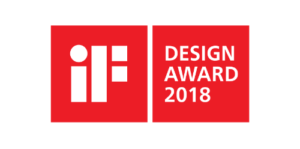 2018 iF design award 300x149 - 2018 iF design award