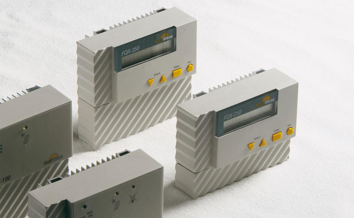 Sunware Fox350 – Solarladeregler (Steuerung), SynapsisDesign