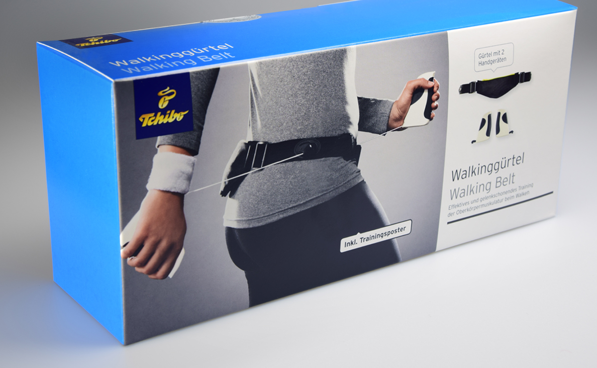 Tchibo – Walkinggürtel, SynapsisDesign